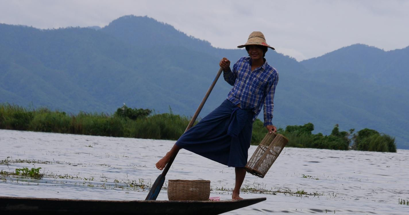 Inle Meer Myanmar
