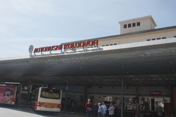 Interrail kroatie busstation van split