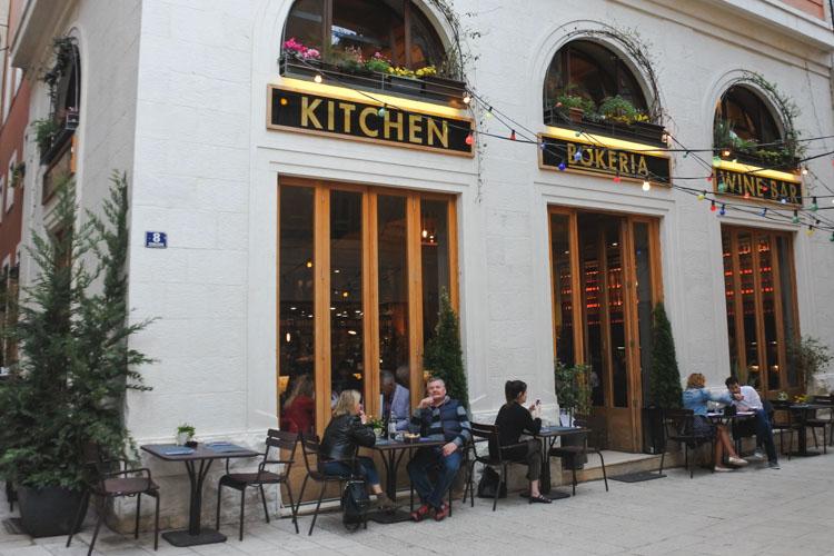 Interrail kroatie cafe split