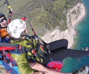 Interrail montenegro paragliden