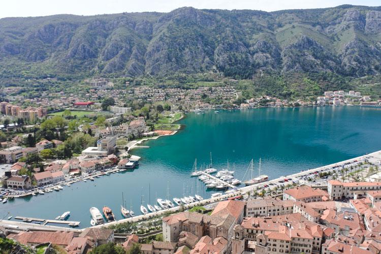 Interrail montenegro tips baai van kotor
