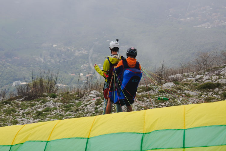 Interrail montenegro tips paragliden budva