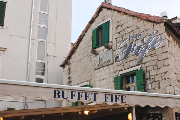 Interrail split kafe hotspots