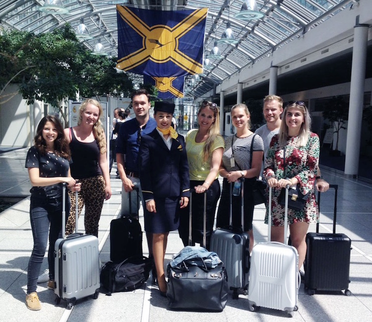 Interview werken als Stewardess lufthansa