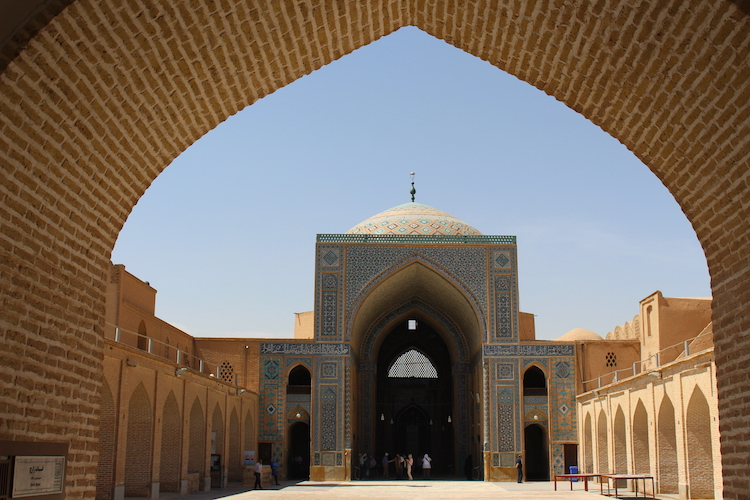 iran yazd centrum