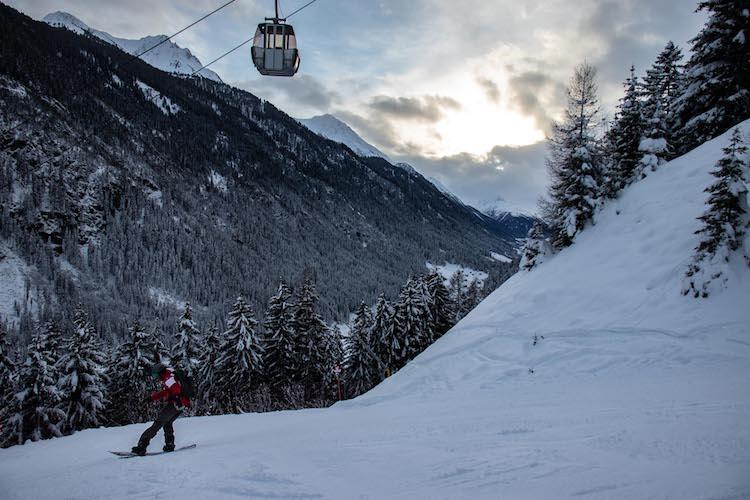 Ischgl Kappl wintersport
