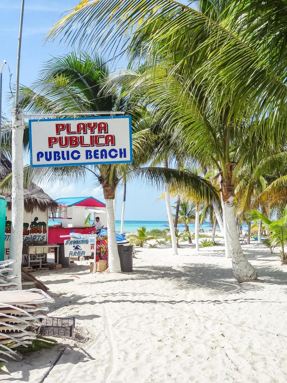 Isla Mujeres Mexico stranden tips