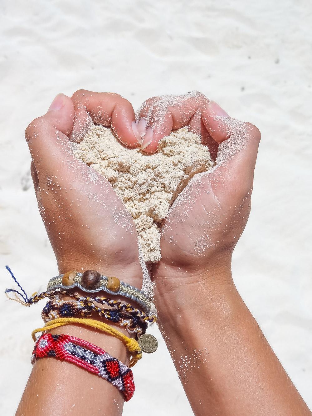 Isla Mujeres wit zand mexico
