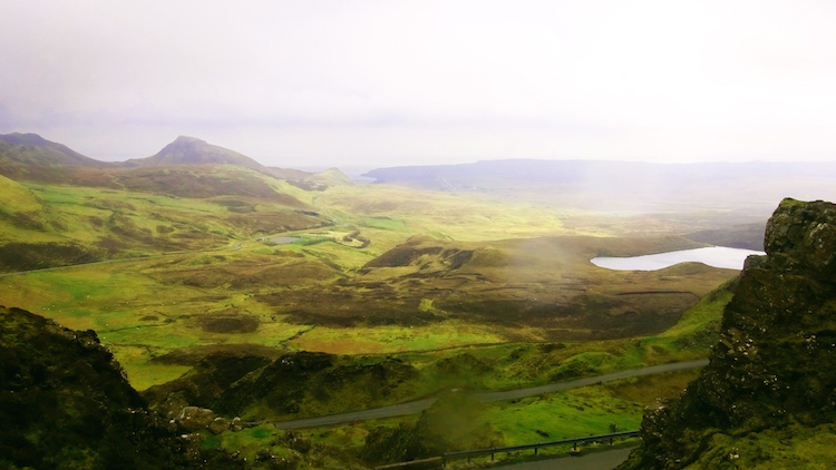 Isle of Skye Schotland quirang