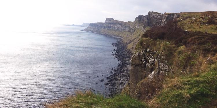 Isle of Skye kliffen