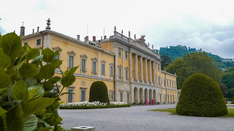 Milaan Como Villa Olmo