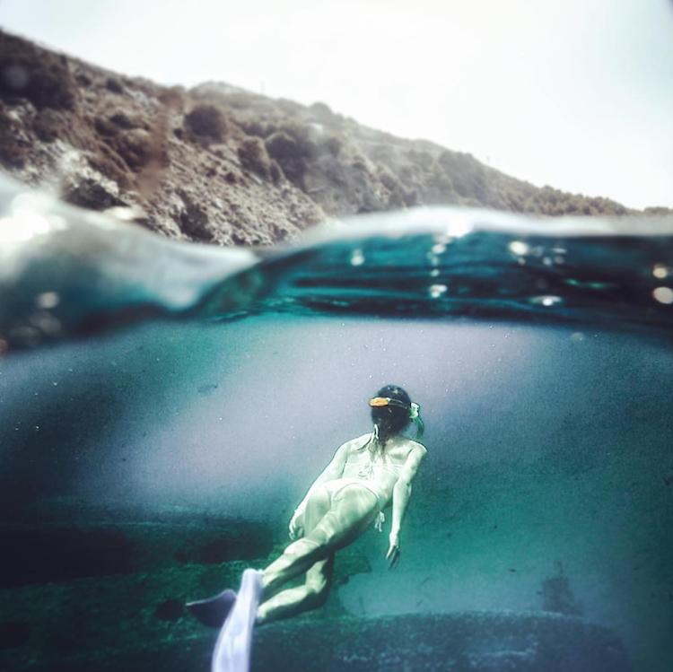 Italie snorkelen