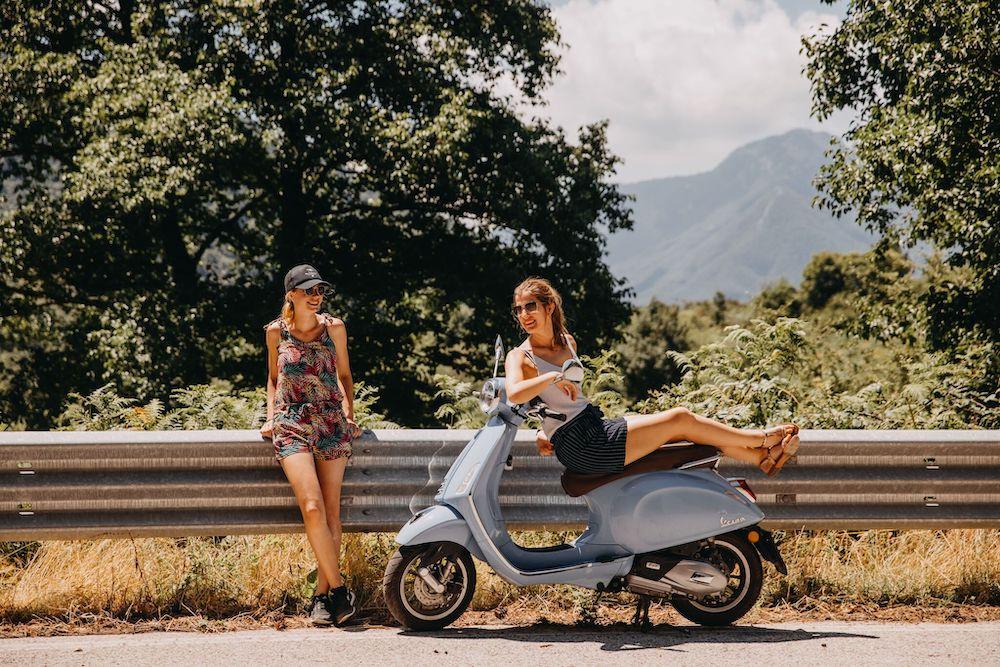 Italie vakantie the vespa trip