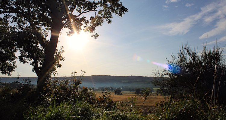 Inverness zon najaar schotland