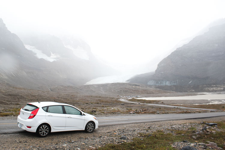 Jasper National Park Canada Athabasca Glacier roadtrip
