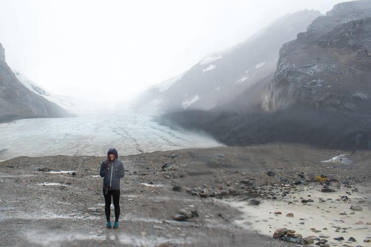 Jasper National Park Canada Athabasca Glacier