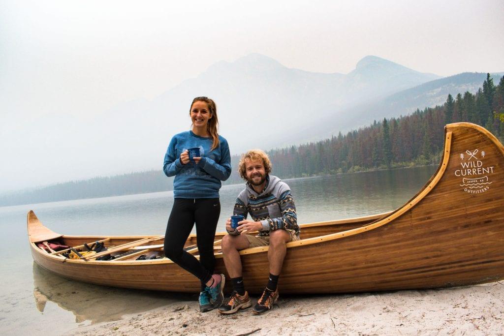 Jasper National Park Canada Pyramid Lake Wild Current Kano