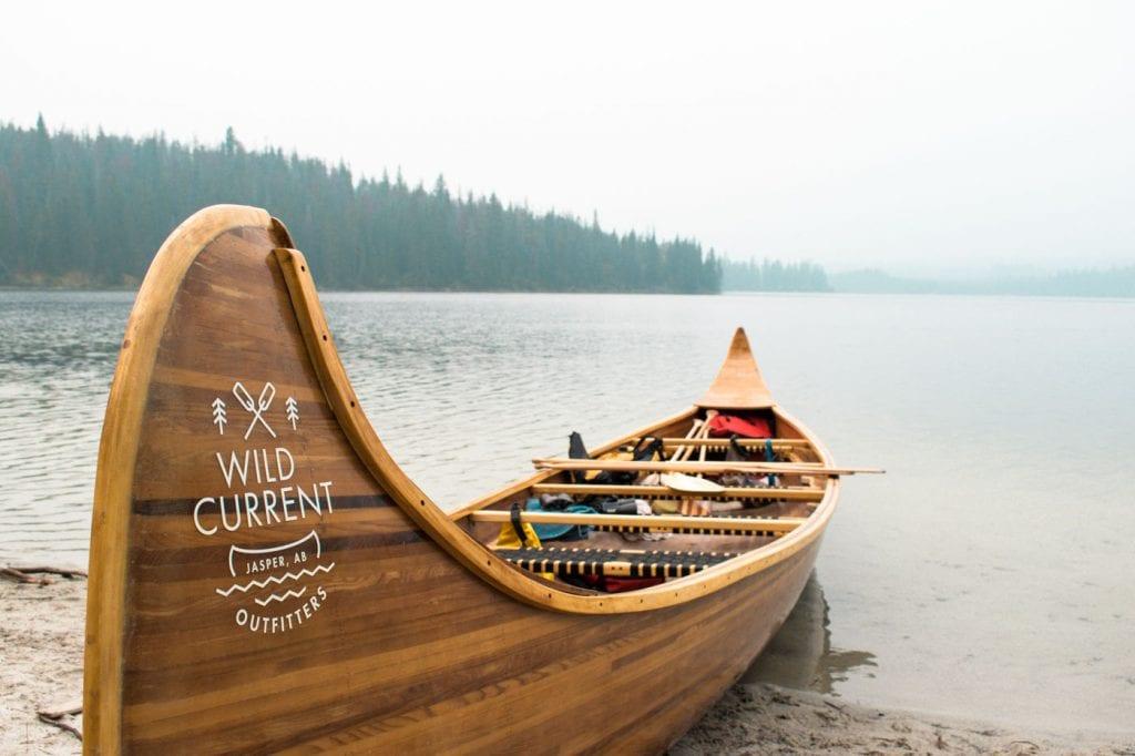 Jasper National Park Canada Pyramid Lake Wild Current Kano-2