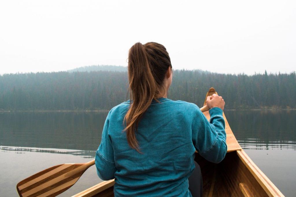 Jasper National Park Canada Pyramid Lake kano