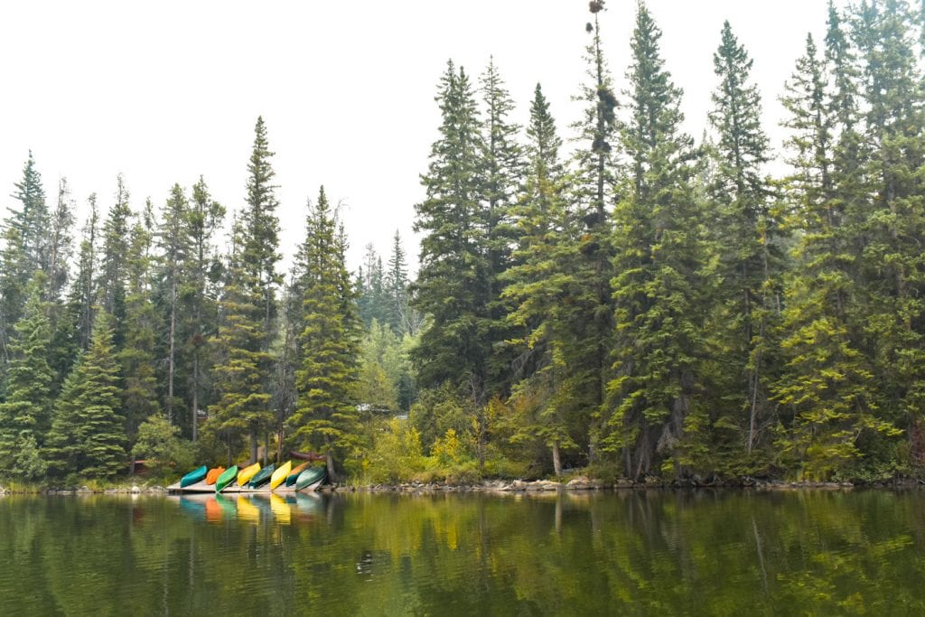 Jasper National Park Canada Pyramid Lake kano-2