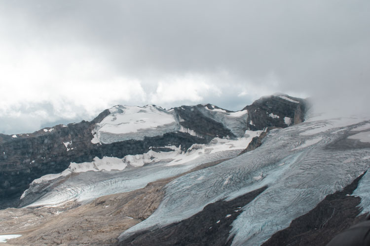 Jasper National Park Canada gletsjer helicoptervlucht