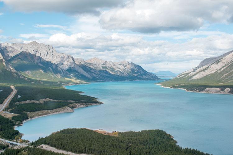 Jasper National Park Canada vanuit helicopter_