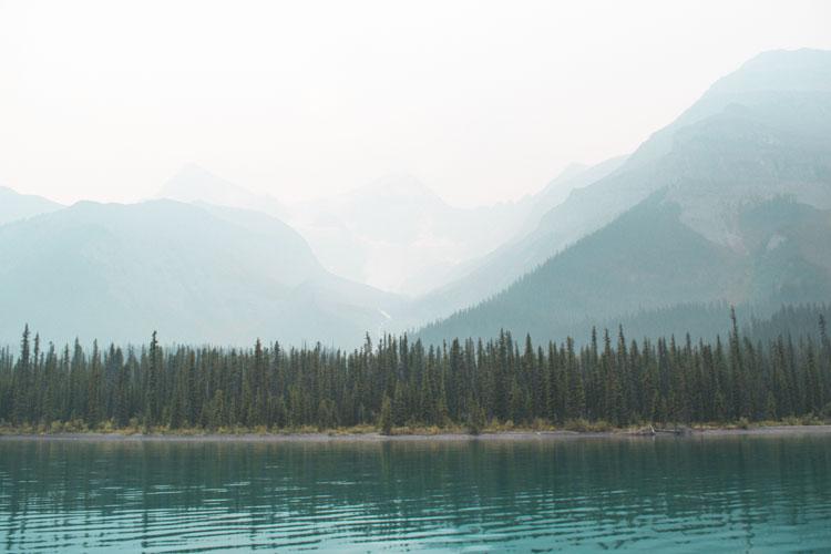 Jasper National Park Maligne Lake Canada