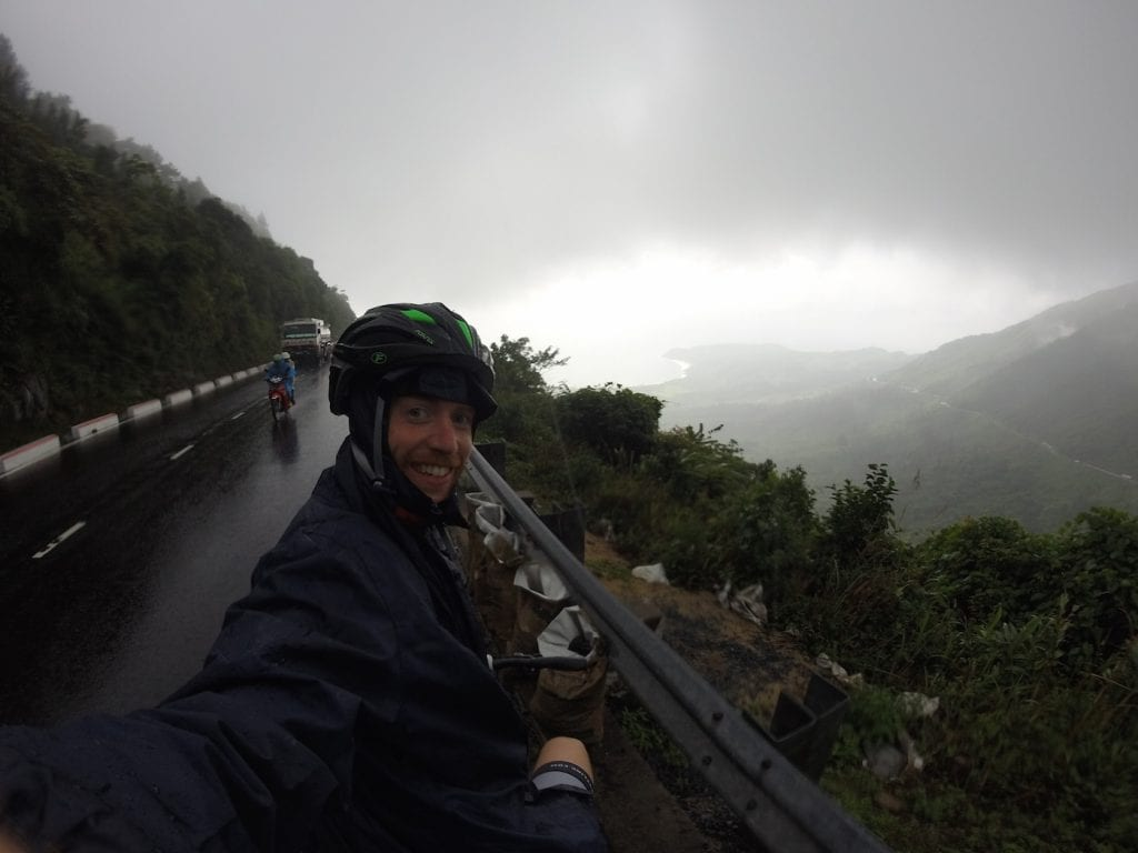 jelle fietsen in vietnam backpacken