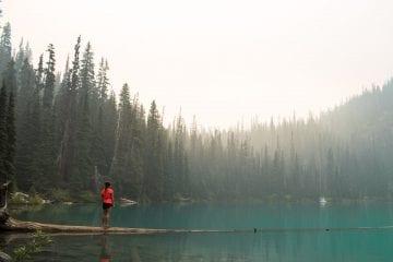 Joffre lakes Provincial Park middle joffre