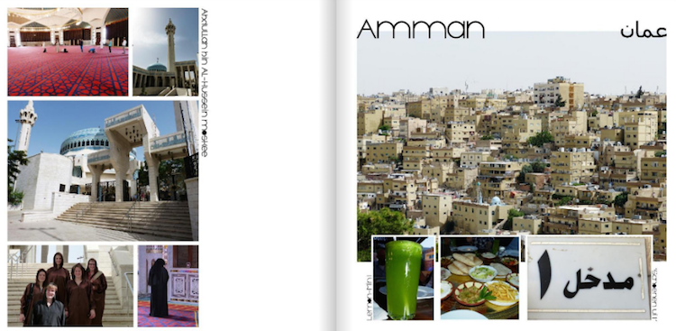Jordanië albelli voorbeeld fotoboek