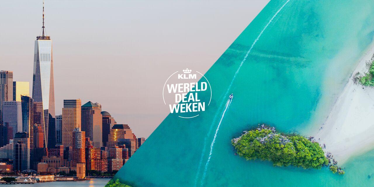 KLM Werelddeal weken echt goedkoper