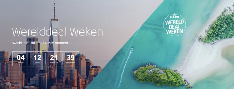 KLM werelddeal weken echt goedkoper ervaring