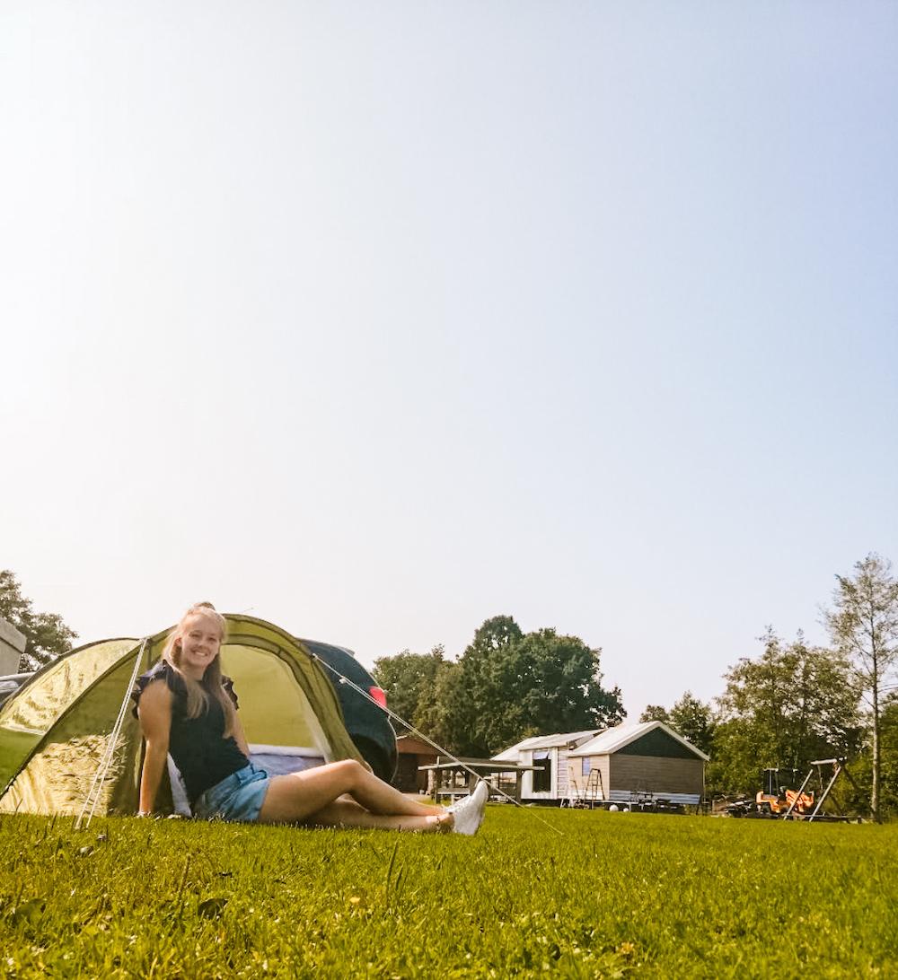 Kampeertips voor alleen kamperen