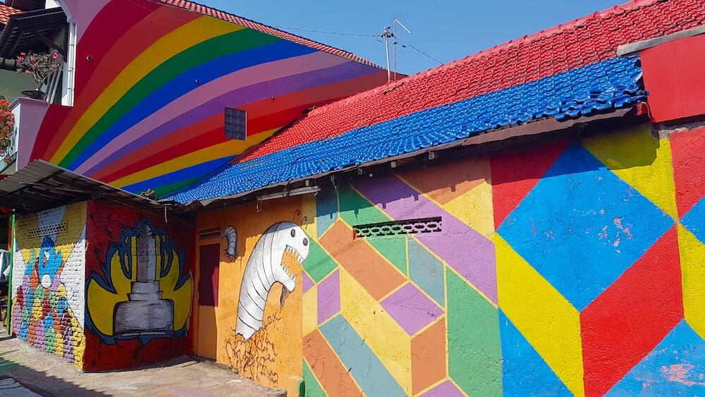 Kampung Pelangi Semarang rainbow village