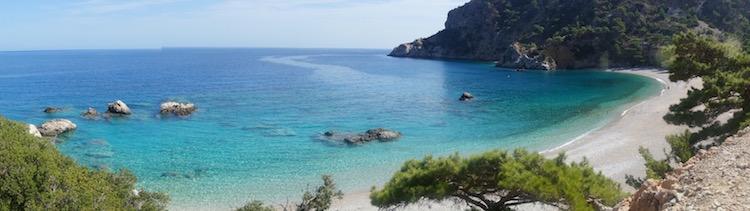 Karpathos stranden grieks eiland