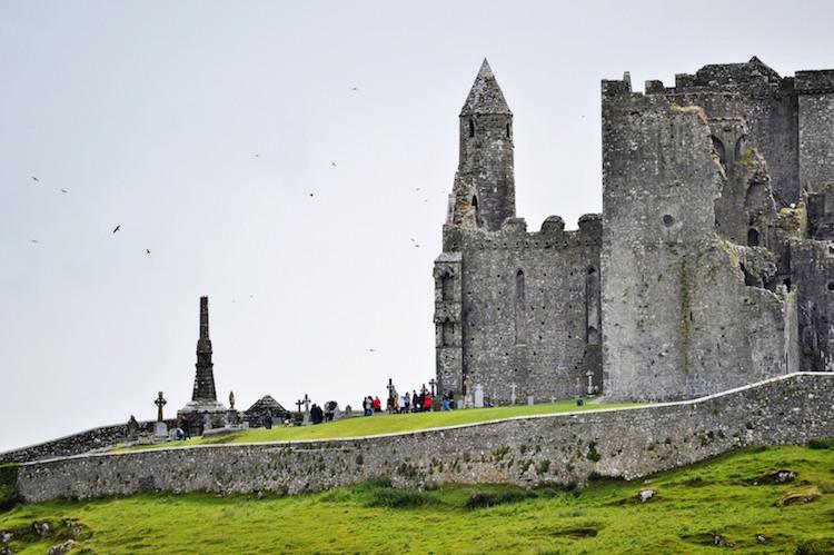 Kasteel ruine bij Cashel in ierland