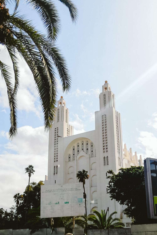 Kathedraal, bezienswaardigheid in Casablanca Marokko