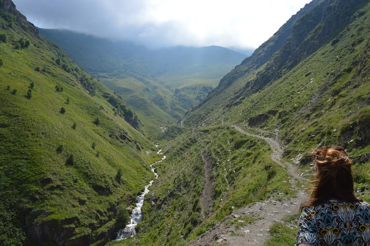 Kaukasus Georgie tip