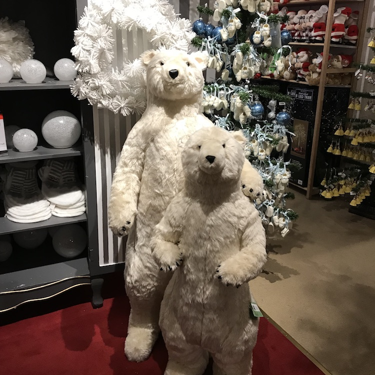 Kerst in New York Macy's