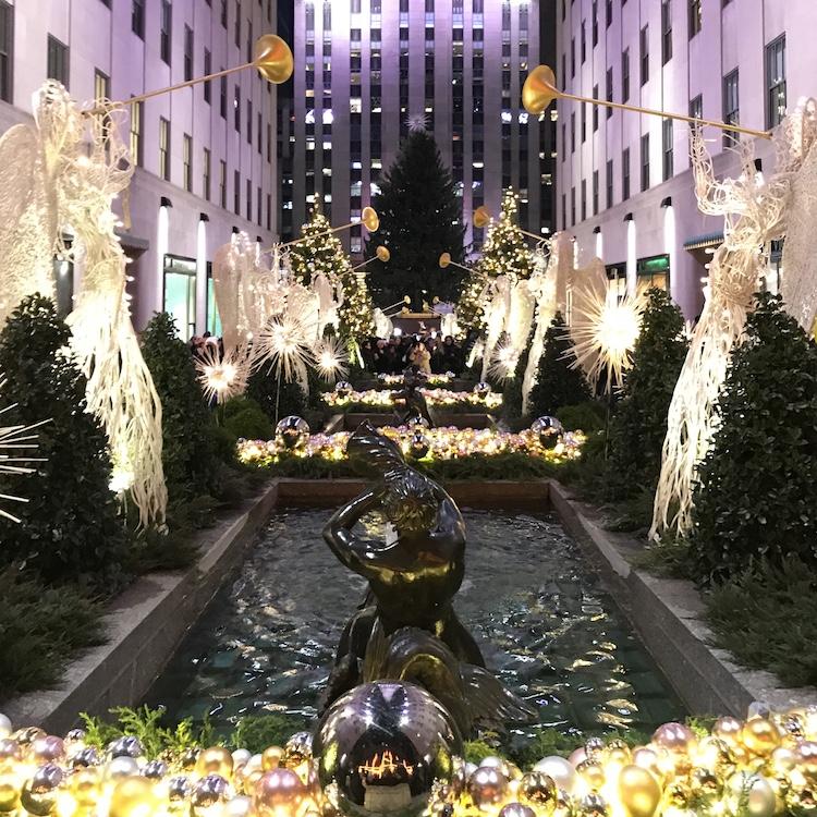 Kerst in New York Rockefeller