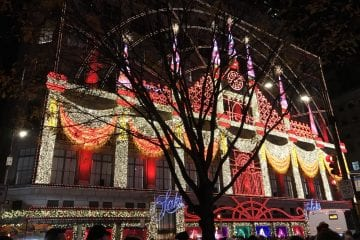 Kerst in New York saks