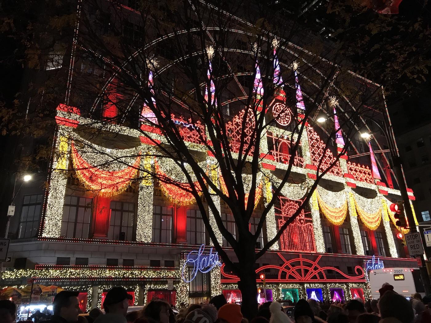 Kerst in New York saks