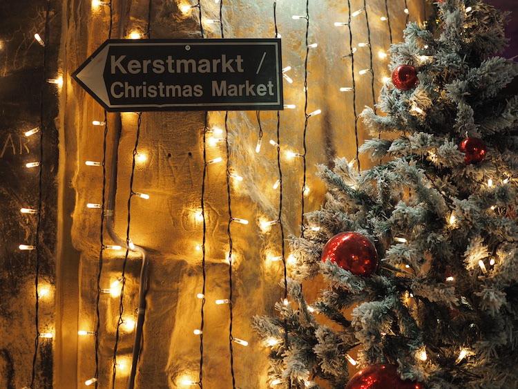 Kerstmarkt grotten valkenburg