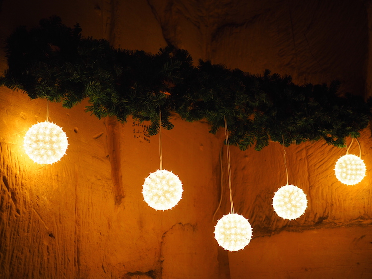 Kerstmarkt in Valkenburg grotten