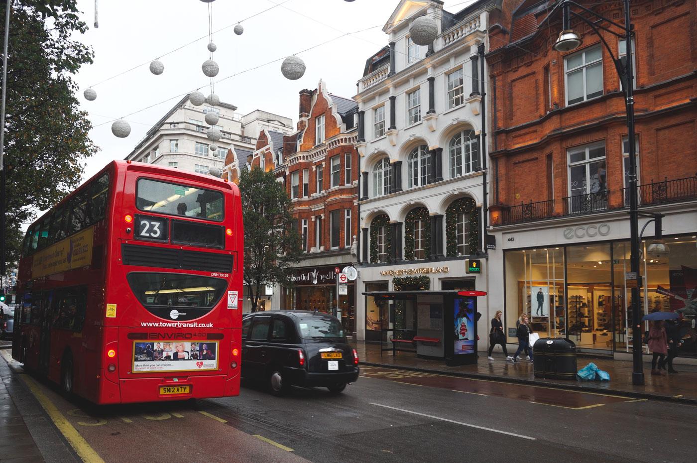 Kerstshoppen in Londen tips