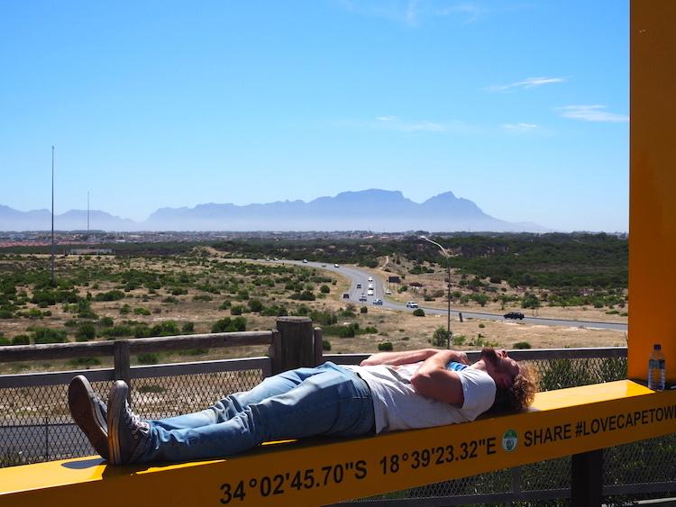 Khayelitsha township kaapstad yellow frame
