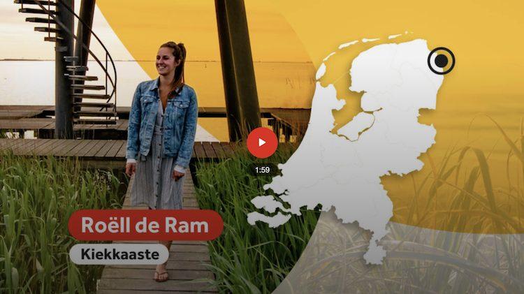 Kiekkaaste NOS Verliefd op Nederland