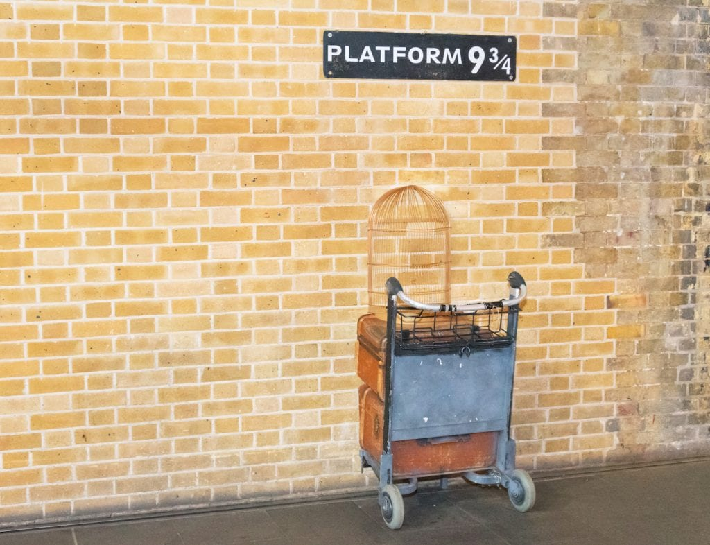 Kings Cross Platform 934