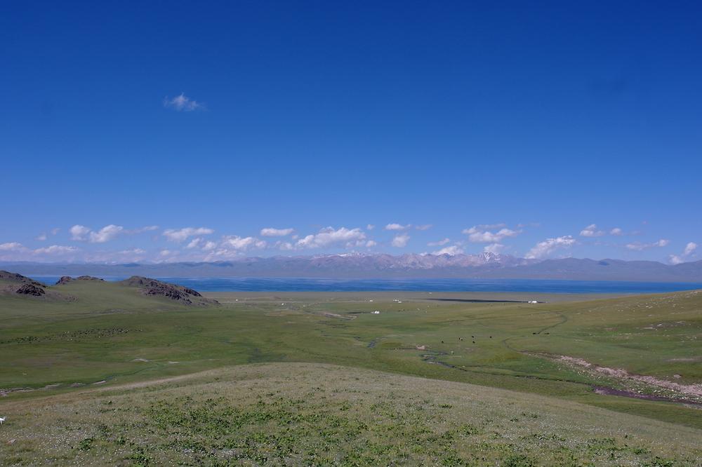 Kirgizie backpacken Son Kol