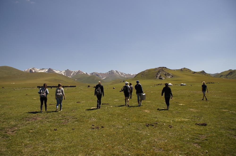 Kirgizie backpacken Son Kul